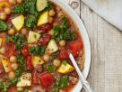 Healthy Italian Bean and Kale Soup recipe