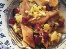 Hearty Herring Salad with Beetroots, Onions, Potatoes and Apple recipe