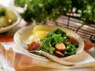 Hearty Kale with Potatoes recipe
