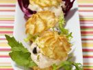 Hearty Puffs with Cream Cheese and Olive Stuffing recipe