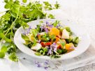 Herb Salad with Fruit & Flowers recipe