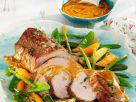 Herbed Veal Roast with Vegetables recipe