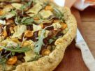 Herby Pizza with Vegetarian Toppings recipe
