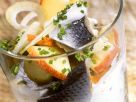 Herring and Apple Salad with Yogurt Vinaigrette recipe