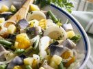 Herring Salad with Potatoes, Vegetables and Eggs recipe