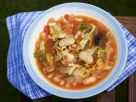 Homemade Tuscan Bean Soup with Black Truffle recipe