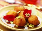 Indian Pastries with Rosewater Syrup recipe