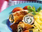 Involtini Stuffed with Spinach recipe