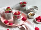 Italian Chia Pudding with Raspberries and Pistachios recipe