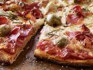 Italian Crust Prosciutto and Olive Pizza recipe