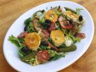 Italian Salad with Pan Fried Goat Cheese recipe