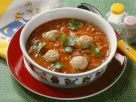 Italian Tomato Soup with Meatballs recipe