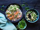 Jackfruit Fricassee with Pea Rice recipe