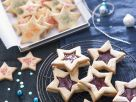Jam Filled Star Cookies recipe