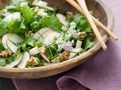 Kale Salad with Pears and Walnuts recipe