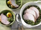 Kale with Smoked Pork recipe
