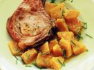 Kassler and Pumpkin with Ginger recipe