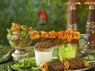 Kebabs and Dips recipe