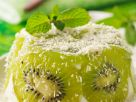 Kiwi and Coconut Flan recipe