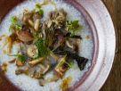 Korean Rice with Sautéed Mushrooms recipe