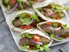 Lamb Burger and Salad Pita Burger recipe