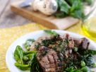 Lamb Chops with Green Salad recipe