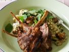 Lamb Chops with Wild Rice and Quinoa recipe