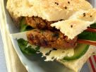 Lamb Kofta, Swiss, and Cucumber Sandwiches recipe