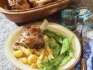 Lamb Shanks with Green Beans and Potatoes recipe