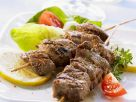 Lamb Skewers with Tomatoes recipe