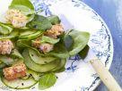 Lambs Lettuce and Cucumber Salad recipe