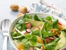Lamb's Lettuce with Radishes, Avocado, Grapefruit and Fennel recipe