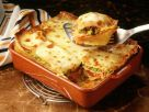 Lasagne with Meat Sauce and Peas recipe