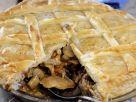 Lattice Pie with Rabbit and Mushroom recipe