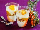 Layered Dessert with Yogurt Cream recipe