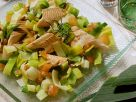 Leek and Tomato Salad with Trout recipe