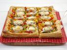 Leek, Pepper and Goat Cheese Pie recipe