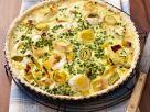 Leek Tart with Peas recipe