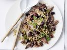 Leg of Lamb with Grapes and Freekeh recipe