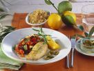 Lemon Chicken Breast with Ratatouille recipe