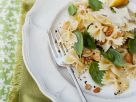 Lemon Pasta with Basil and Pine Nuts recipe