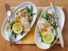Lemon Turkey Schnitzel with Wild Rice recipe