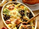 Lentil and Vegetable Gratin with Sausage recipe