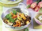 Lentil Vegetable Pan with Mushrooms recipe