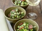 Lentils and Bean Salad with Spicy Sausage (Chorizo) recipe