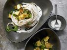 Linguine with Creamy Herb Sauce recipe