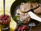 Liver Patties with Cranberry Sauce recipe