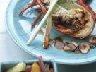 Lobster with Marinated Vegetables recipe