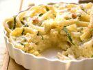 Macaroni and Cheese Zucchini Bake recipe