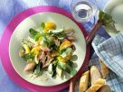 Mache Salad with Rhubarb recipe